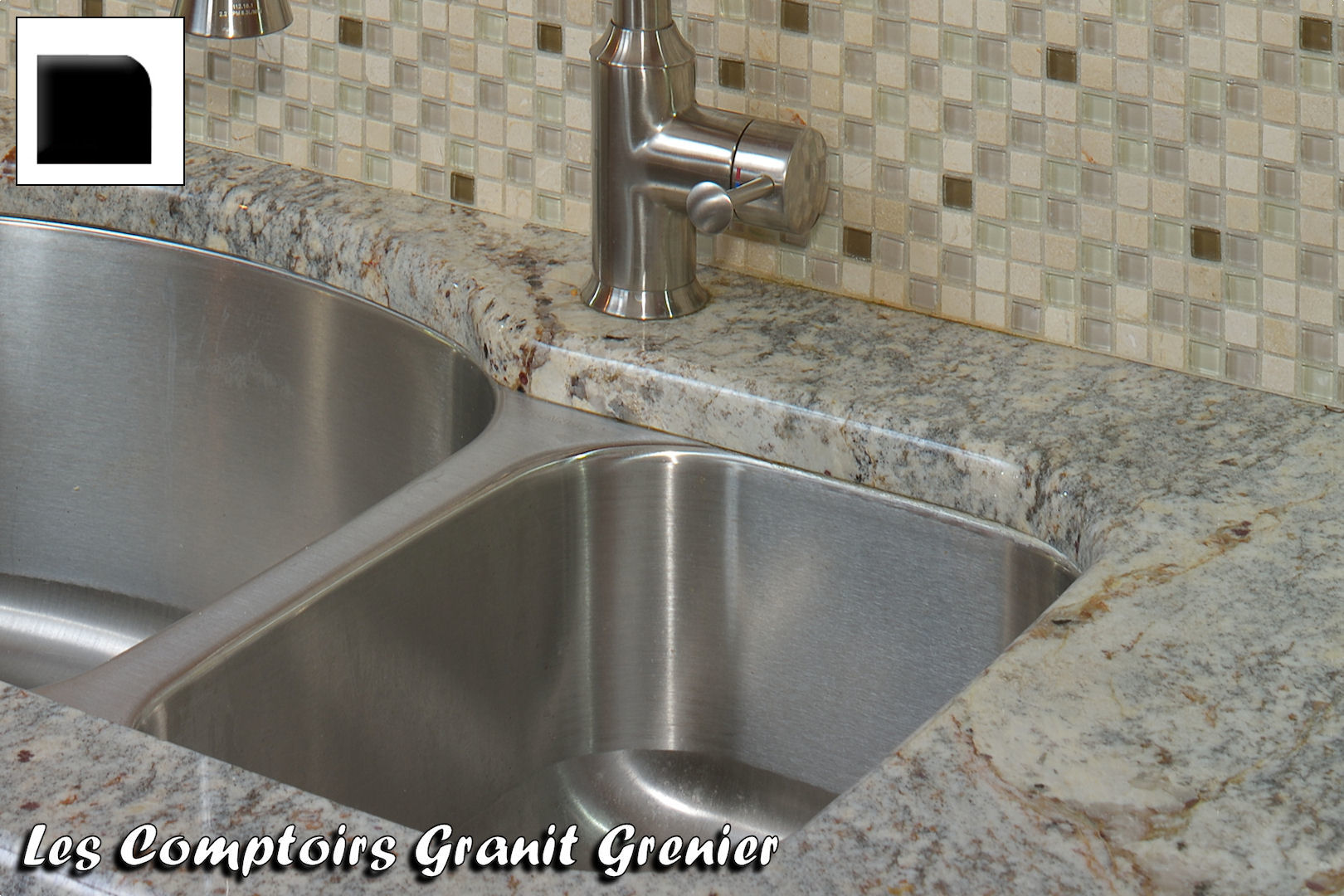 Comptoir de granit et quartz finitions disponibles - Comptoir de cuisine bordeaux ...