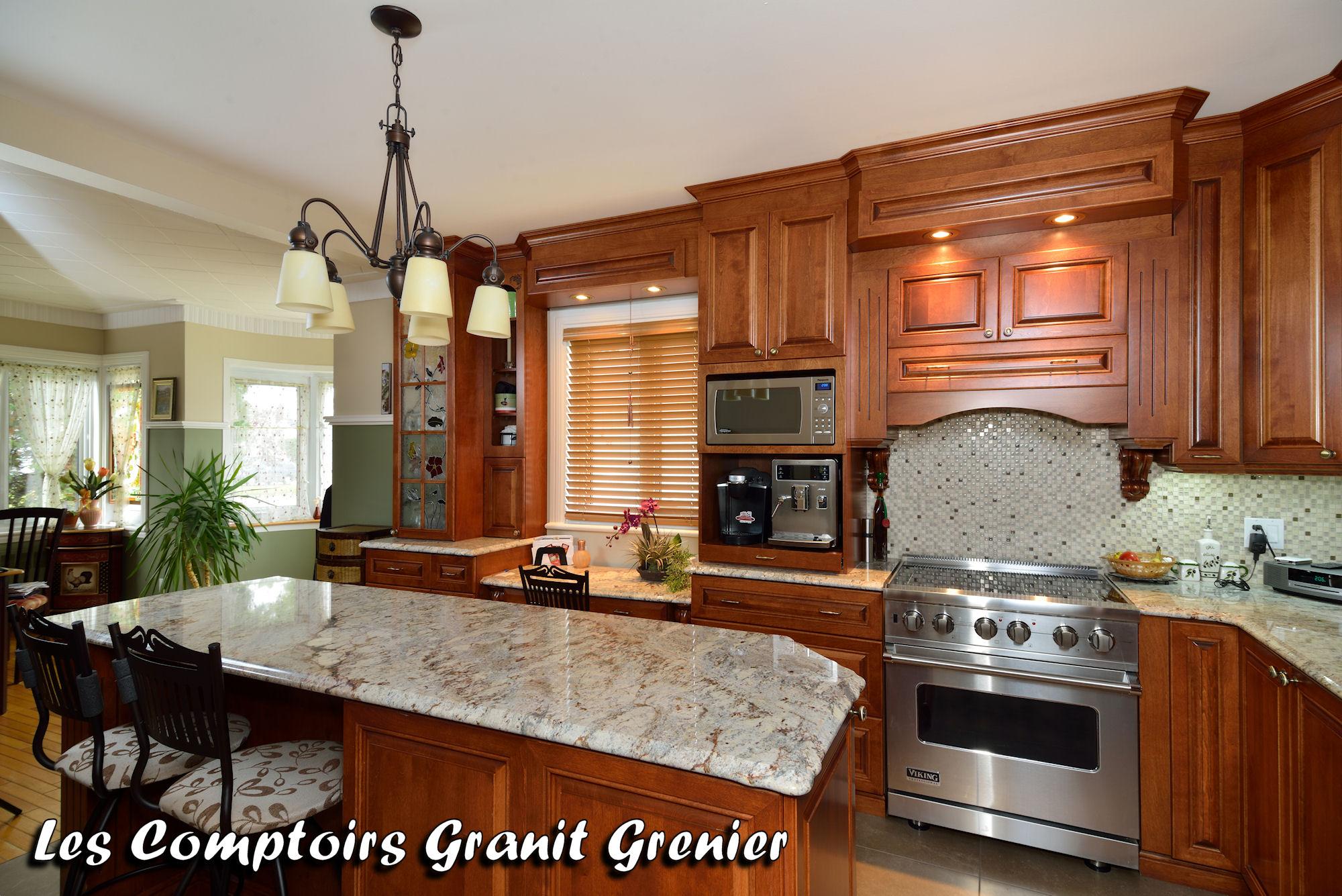 Comptoir De Granit Et Quartz Realisations De Cuisines Et Vanites